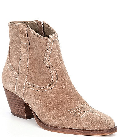 Dolce Vita Silma Suede Western Booties