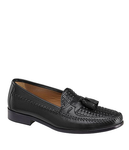 Domani Men's Reeves Tasseled Woven Loafers