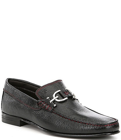 Donald Pliner Men's Dacio 2 Metal Bit Detail Loafers