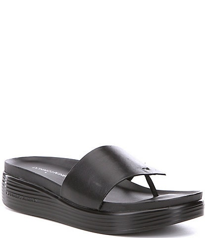 Donald Pliner Fifi Leather Sandals
