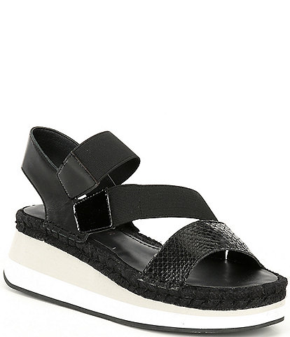 Donald Pliner Sadie Flatform Leather Sandals