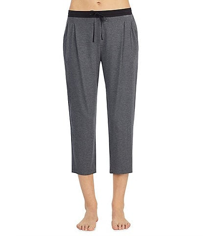 Donna Karan Jersey Knit Capri Sleep Pants