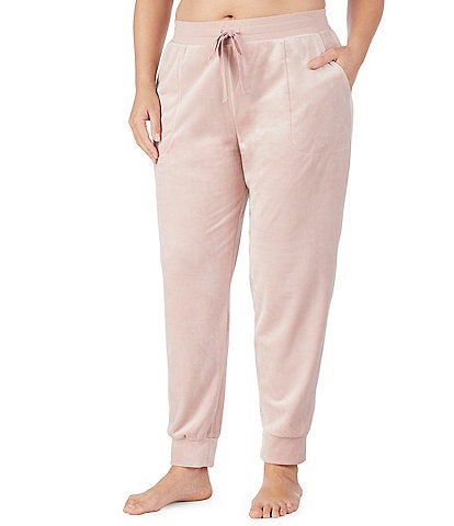 Donna Karan Plus Plush Jogger Lounge Pants