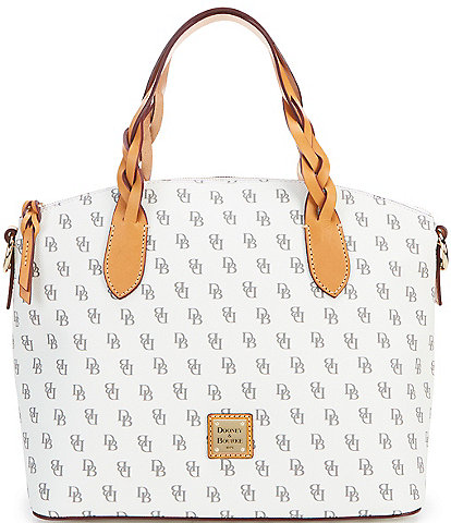Dooney & Bourke Blakely Collection Celeste Logo Satchel Bag
