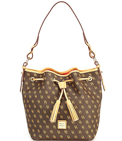 Dooney & Bourke Blakely Collection Tasha Logo Drawstring Bag