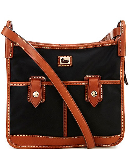 Dooney & Bourke Camden Nylon Collection Double Pocket Crossbody Bag