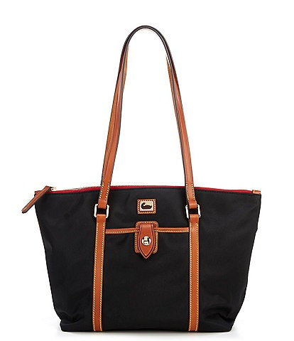 Dooney & Bourke Camden Nylon Collection Zip Top Tote Bag