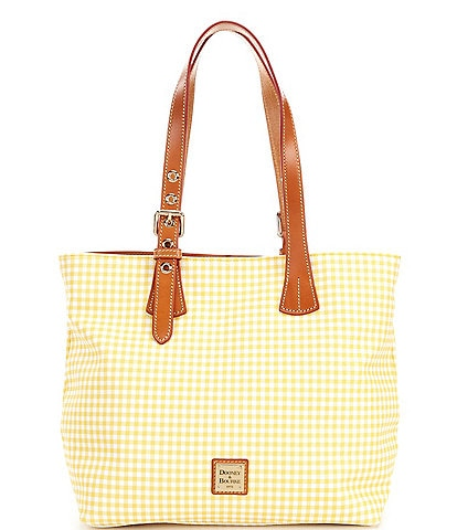 Dooney & Bourke Gingham Collection Emily Snap Tote Bag