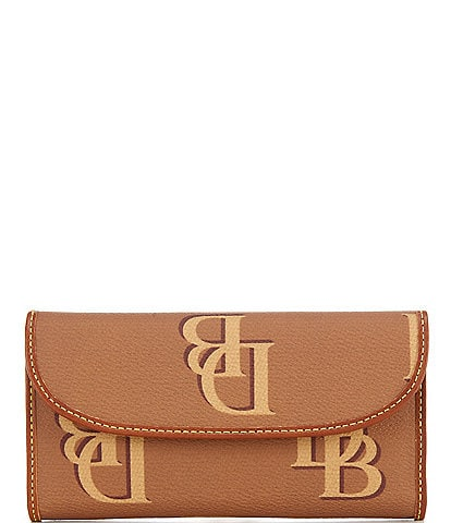 Dooney & Bourke Monogrammed Collection Continental Clutch