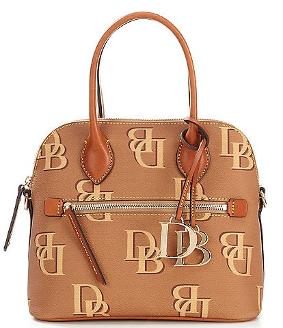 Dooney & Bourke Monogrammed Collection Domed Satchel Bag