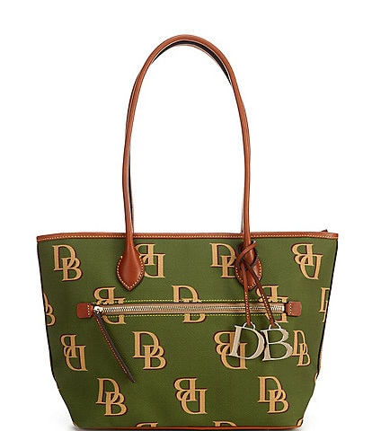 Dooney & Bourke Monogrammed Collection Tote Bag