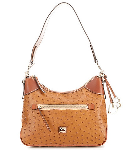 Dooney & Bourke Ostrich Collection Hobo Bag
