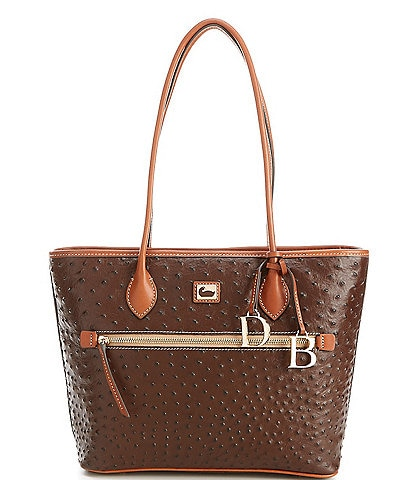 Dooney & Bourke Ostrich Collection Tote Bag