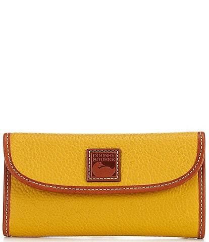 Dooney & Bourke Pebble Collection Continental Clutch