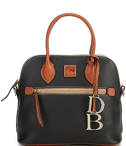 Dooney & Bourke Pebble Collection Domed Satchel Bag