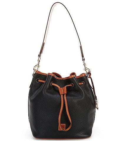 Dooney & Bourke Pebble Collection Drawstring Bucket Bag