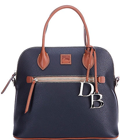 Dooney & Bourke Pebble Collection Large Domed Satchel Bag