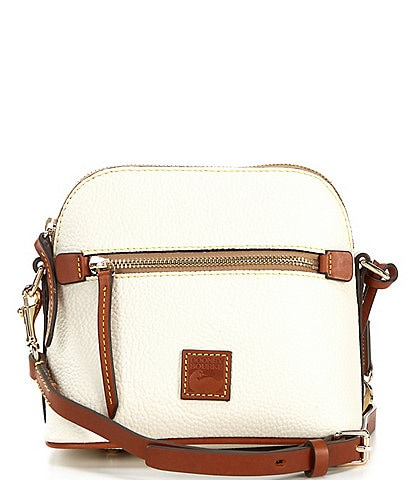 Dooney & Bourke Pebble Collection Leather Domed Crossbody Bag