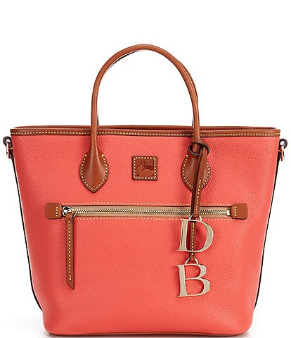 Dooney & Bourke Pebble Collection Leather Handle Tote Bag