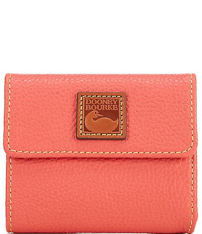Dooney & Bourke Pebble Collection Small Flap Wallet
