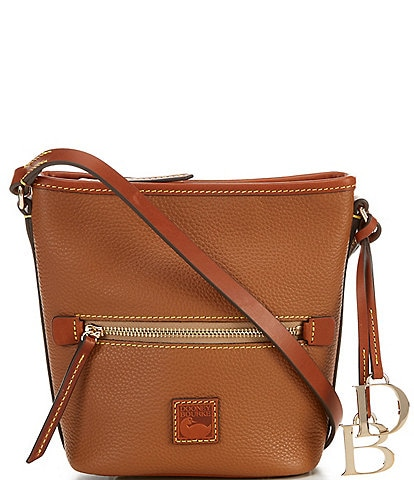 Dooney & Bourke Pebble Collection Small Zip Sac Bag