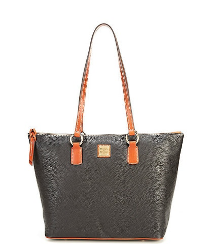Dooney & Bourke Pebble Collection Wren Zip Tote Bag