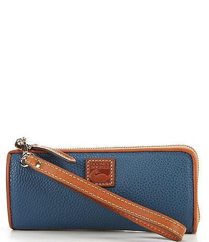 Dooney & Bourke Pebble Collection Zip Clutch Wristlet
