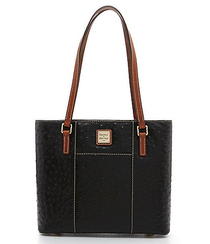 Dooney & Bourke Ostrich Collection Small Lexington Colorblock Tote