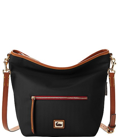 Dooney & Bourke Wayfarer Collection Cam Nylon Small Hobo Crossbody Bag