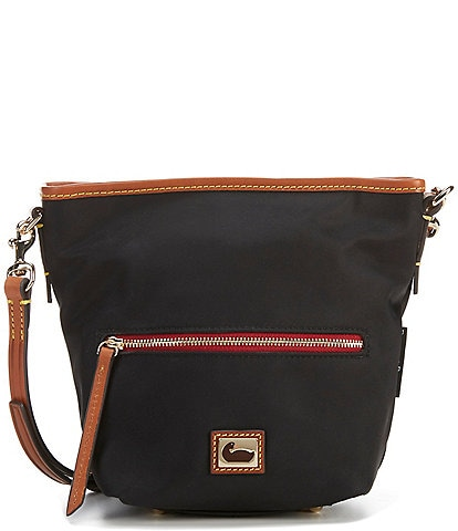 Dooney & Bourke Wayfarer Collection Mini Hobo Nylon Crossbody Bag