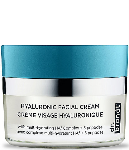 Dr. Brandt Hyaluronic Facial Cream with multi-hydrating HA4 Complex + 5 peptides