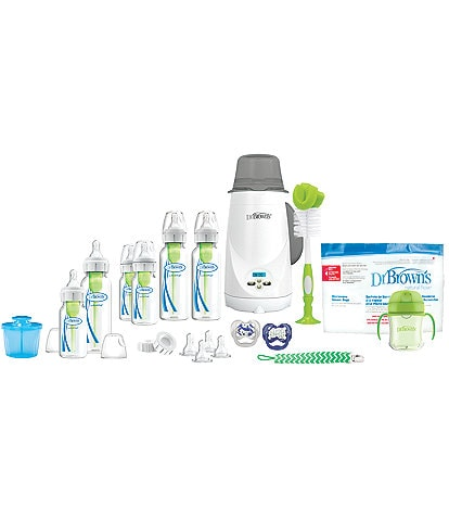 Dr. Brown's Options+ All-In-One Baby-to-Toddler Feeding Gift Set