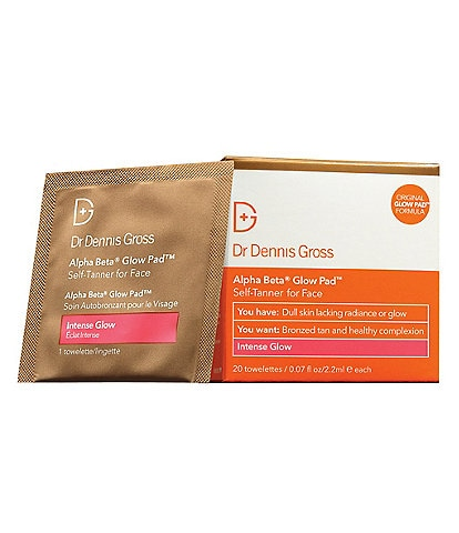 Dr. Dennis Gross Alpha Beta Glow Pad Self-Tanner for Face Intense Glow