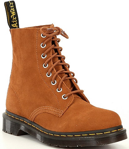 Dr. Martens 1460 Pascal Brushed Suede Combat Boots