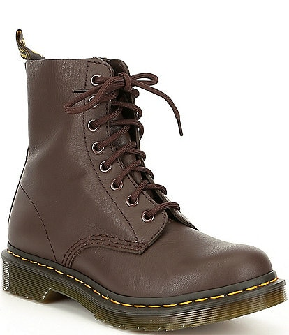 Dr. Martens 1460 Pascal Nappa Leather Lug Sole Combat Boots