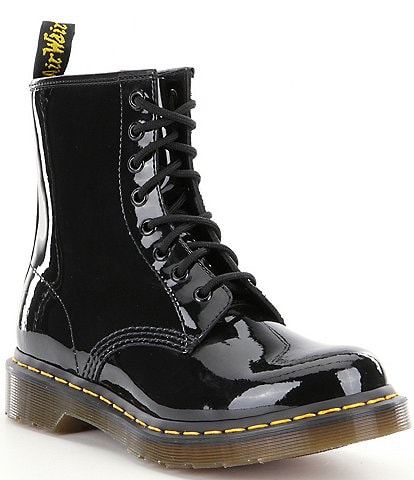 Dr. Martens Women's 1460 Patent Leather Combat Boots