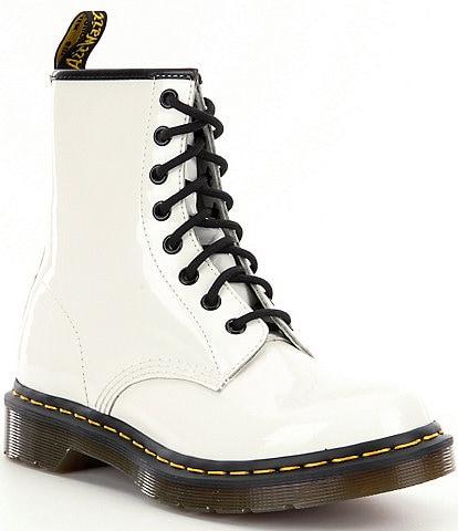 Dr. Martens Women's 1460 Patent Leather Combat Boots