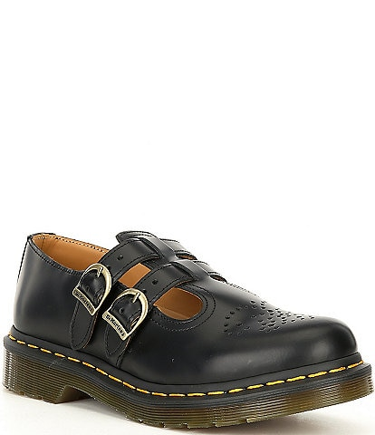 Dr. Martens 8065 Mary Jane Leather Shoes