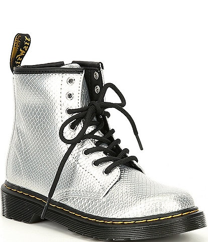 Dr. Martens Girls' 1460 Embossed Leather Boots (Youth)