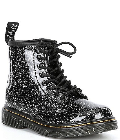 Dr. Martens Girl's 1460 Glitter Boots (Toddler)