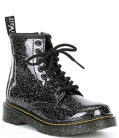 Dr. Martens Girls' 1460 Side-Zip Glitter Boots (Youth)