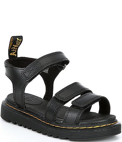 Dr. Martens Girls' Klaire Leather Sandals (Youth)