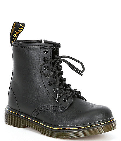 Dr. Martens Kid's 1460 Softy T Leather Lace-Up Combat Boots (Toddler)