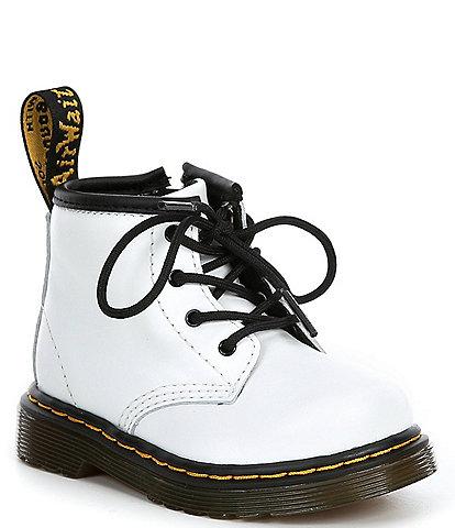 Dr. Martens Kids' 1460 Leather Lace-Up Combat Boots (Infant)