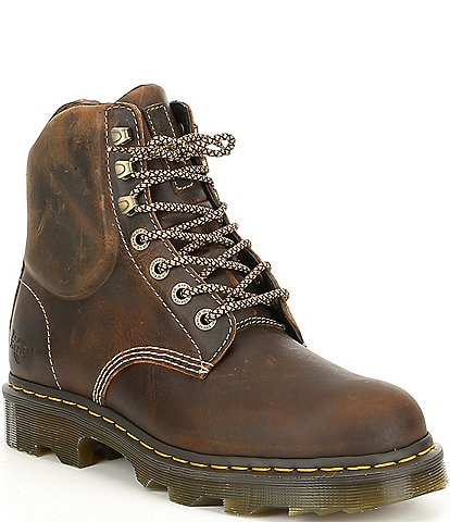 Dr. Martens Men's Crofton Leather Work Boot