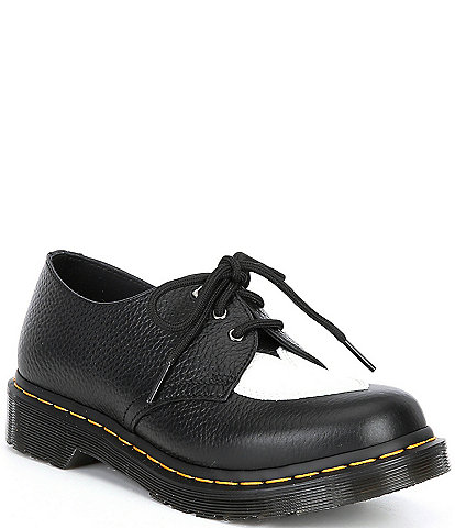 Dr. Martens Women's 1461 Amore Heart Leather Oxford Shoes
