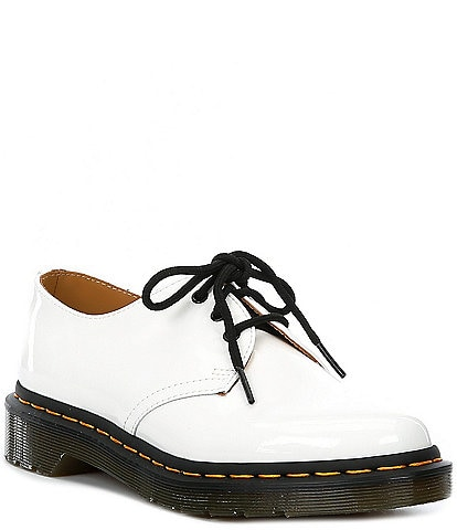 Dr. Martens Women's 1461 Patent Leather Lace-Up Oxford Shoes