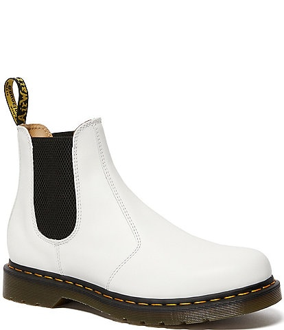 Dr. Martens Women's 2976 YS Smooth Leather Lug Sole Chelsea Booties