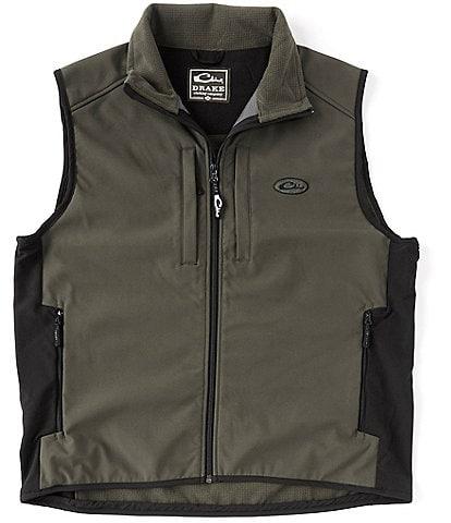 Drake Clothing Co. EST Windproof Tech Full-Zip Vest