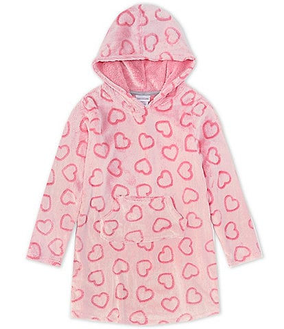 Dream Life Big Girls 7-16 Embossed Heart Cozy Hoodie